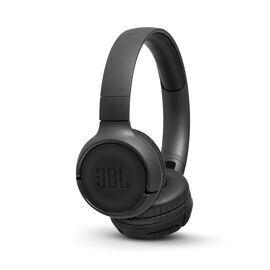 JBL TUNE 500BT - Black - Wireless on-ear headphones - Hero