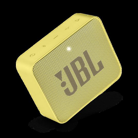 JBL GO 2 - Lemonade Yellow - Portable Bluetooth speaker - Detailshot 1