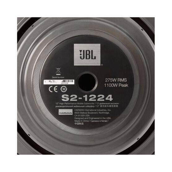 """S2-1224 - Black - 12"""" (300mm) SSI car audio subwoofer - Detailshot 3"""