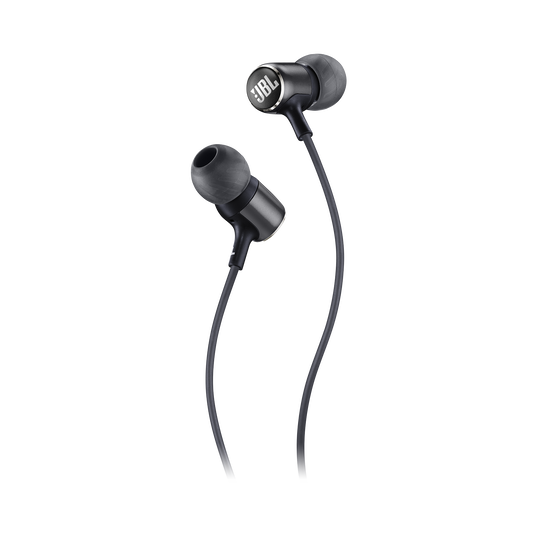JBL LIVE 100 - Black - In-ear headphones - Detailshot 1