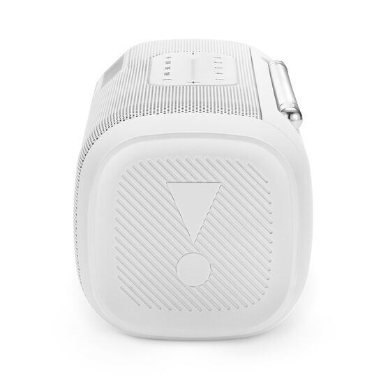 JBL Tuner FM - White - Portable Bluetooth Speaker with FM radio - Detailshot 1