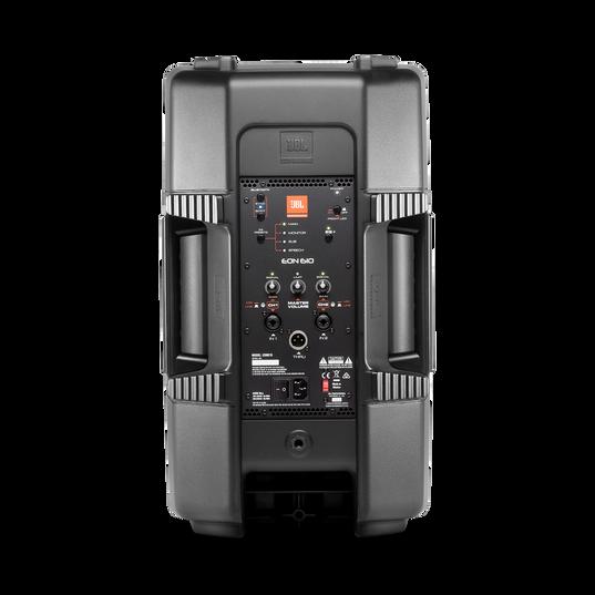 "JBL EON610 - Black - 10"" (25 cm) Two-Way Multipurpose Self-Powered Sound Reinforcement - Back"