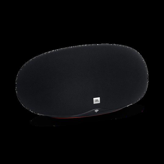 JBL Playlist - Black - Wireless speaker with Chromecast built-in - Hero