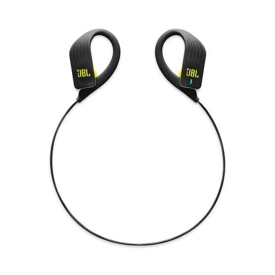JBL Endurance SPRINT - Yellow - Waterproof Wireless In-Ear Sport Headphones - Detailshot 2