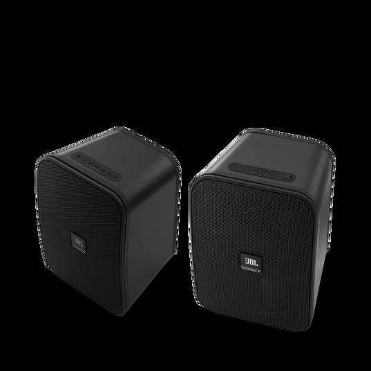 "JBL Control X Wireless - Grey - 5.25"" (133mm) Portable Stereo Bluetooth® Speakers - Hero"