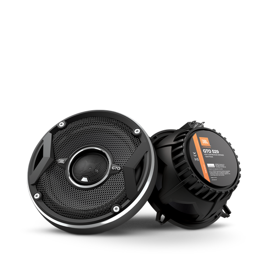 "GTO529 - Black - 180-Watt, Two-Way 6-1/2"" Speaker System - Hero"