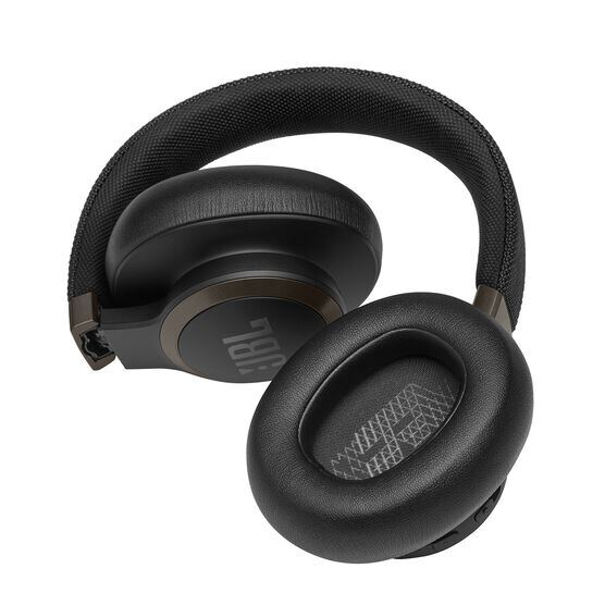 JBL LIVE 650BTNC - Black - Wireless Over-Ear Noise-Cancelling Headphones - Detailshot 7
