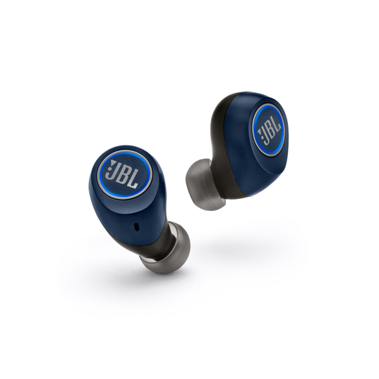 JBL Free X - Blue - True wireless in-ear headphones - Detailshot 3