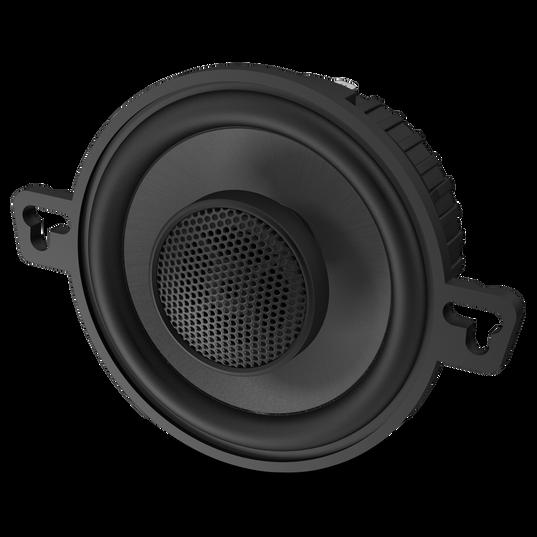 """GTO329 - Black - 75-Watt, Two-Way 3-1/2"""" Speaker System - Detailshot 1"""