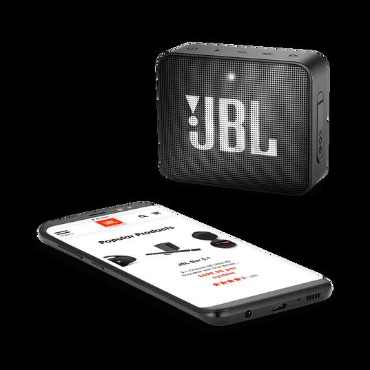 JBL GO 2 - Midnight Black - Portable Bluetooth speaker - Detailshot 3