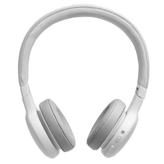 JBL LIVE 400BT - White - Your Sound, Unplugged - Front