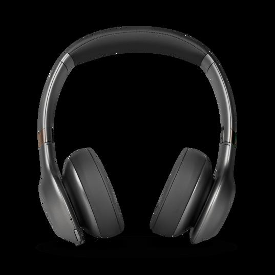 JBL EVEREST™ 310 - Gun Metal - Wireless On-ear headphones - Front