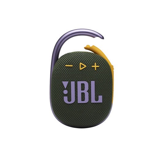 JBL CLIP 4 - Green - Ultra-portable Waterproof Speaker - Front
