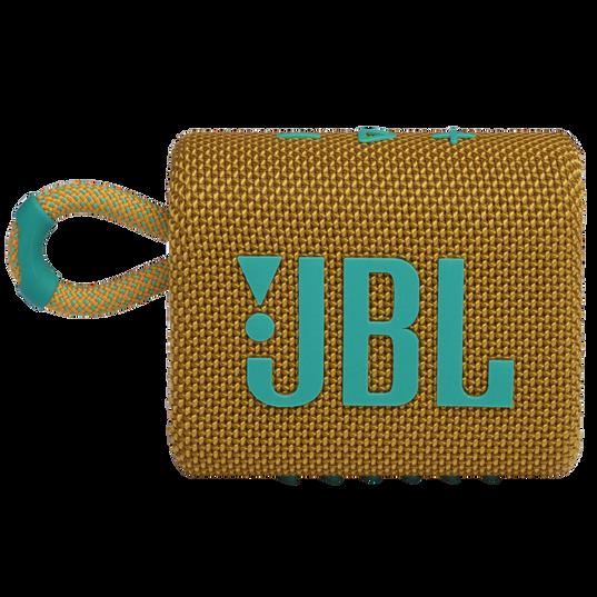 JBL GO 3 - Yellow - Portable Waterproof Speaker - Front