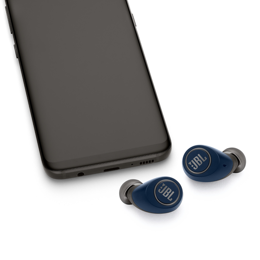 JBL Free X - Blue - True wireless in-ear headphones - Detailshot 1