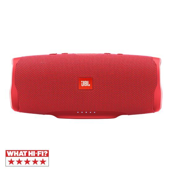 JBL Charge 4 - Red - Portable Bluetooth speaker - Hero