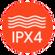 Kháng nước chuẩn IPX4
