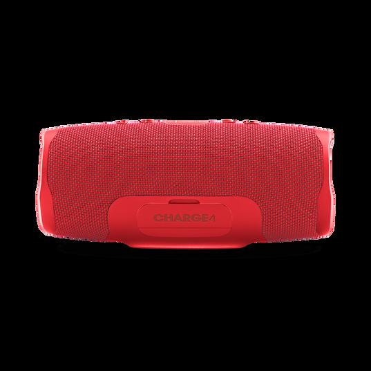 JBL Charge 4 - Red - Portable Bluetooth speaker - Back