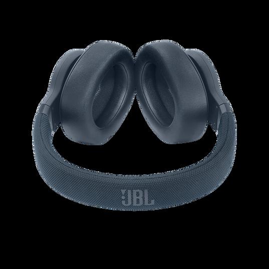 JBL E65BTNC - Blue - Wireless over-ear noise-cancelling headphones - Detailshot 1