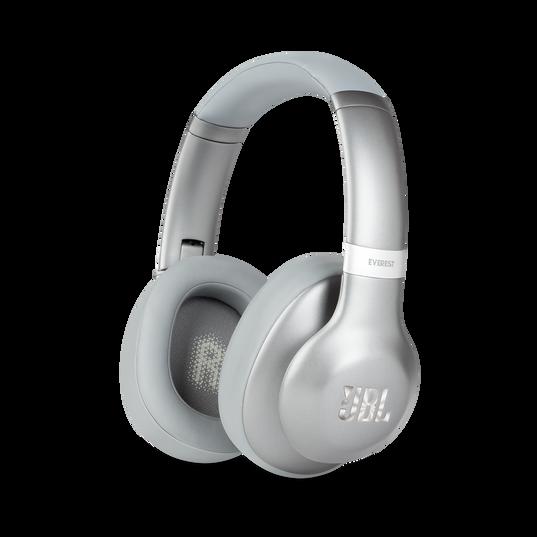 JBL EVEREST™ 710 - Silver - Wireless Over-ear headphones - Hero