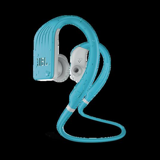 JBL Endurance JUMP - Teal - Waterproof Wireless Sport In-Ear Headphones - Hero