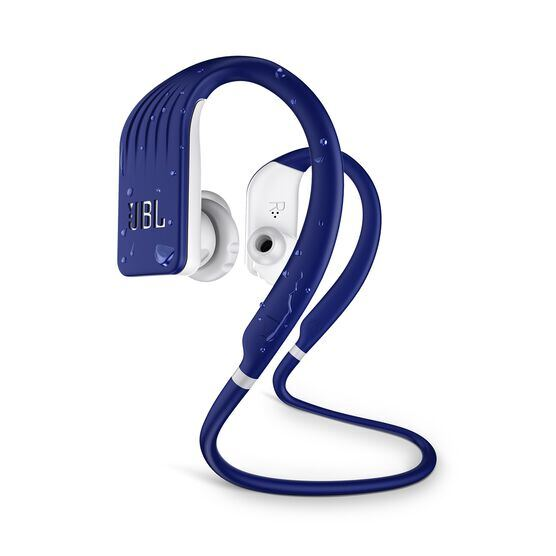 JBL Endurance JUMP - Blue - Waterproof Wireless Sport In-Ear Headphones - Hero