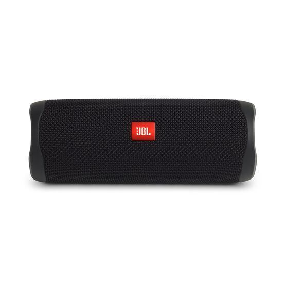 JBL FLIP 5 - Black Matte - Portable Waterproof Speaker - Front
