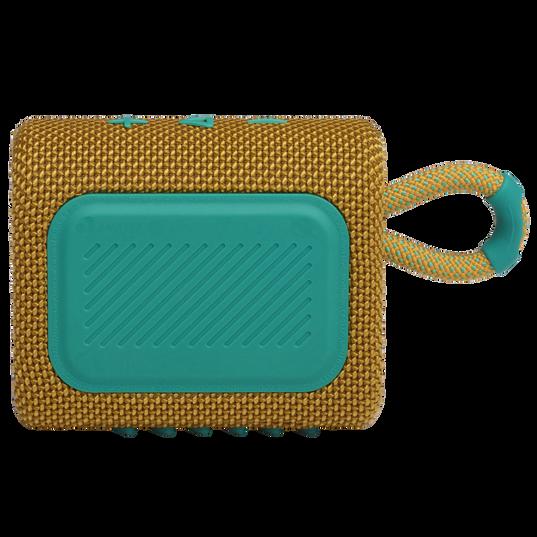 JBL GO 3 - Yellow - Portable Waterproof Speaker - Back
