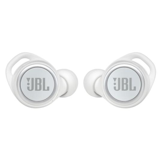 JBL Live 300TWS - White Gloss - True wireless earbuds - Front