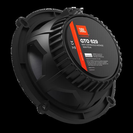 """GTO629 - Black - 180-Watt, Two-Way 5"""" x 7"""" Speaker System - Back"""