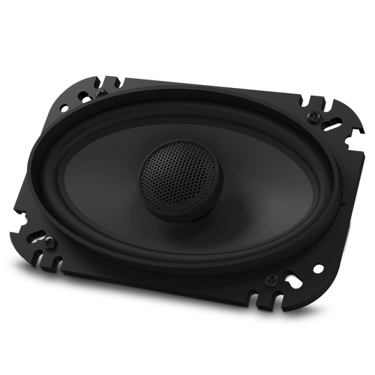 "GTO6429 - Black - 135-Watt, Two-Way 4"" x 6"" Speaker System - Detailshot 1"