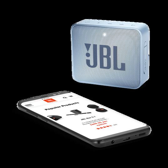 JBL GO 2 - Icecube Cyan - Portable Bluetooth speaker - Detailshot 3