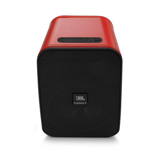 """JBL Control X Wireless - Red - 5.25"""" (133mm) Portable Stereo Bluetooth® Speakers - Front"""