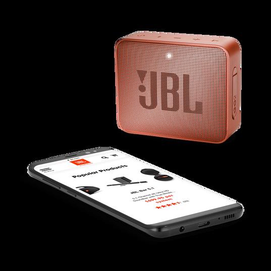 JBL GO 2 - Sunkissed Cinnamon - Portable Bluetooth speaker - Detailshot 3