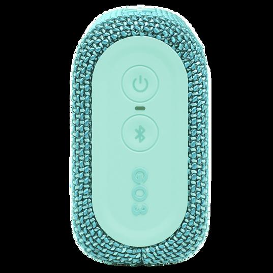 JBL Go 3 - Teal - Portable Waterproof Speaker - Right