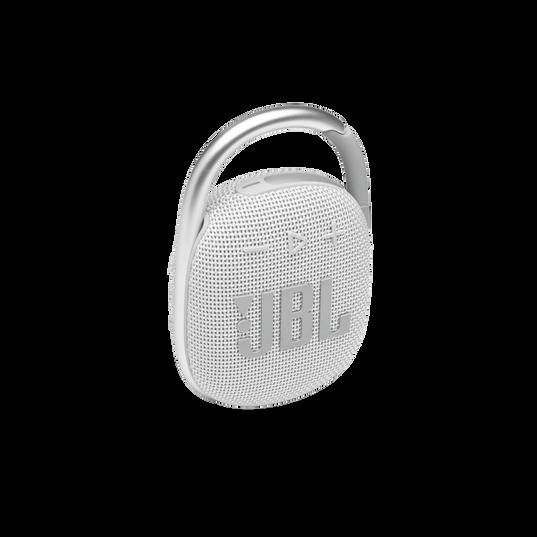 JBL CLIP 4 - White - Ultra-portable Waterproof Speaker - Hero