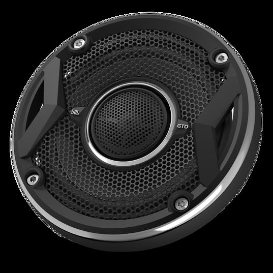 """GTO429 - Black - 105-Watt, Two-Way 4"""" Speaker System - Detailshot 1"""