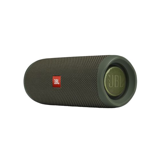 JBL FLIP 5 - Green - Portable Waterproof Speaker - Detailshot 3