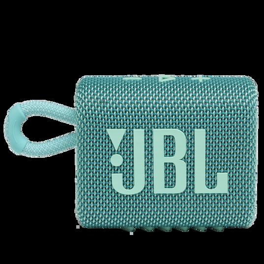 JBL Go 3 - Teal - Portable Waterproof Speaker - Front