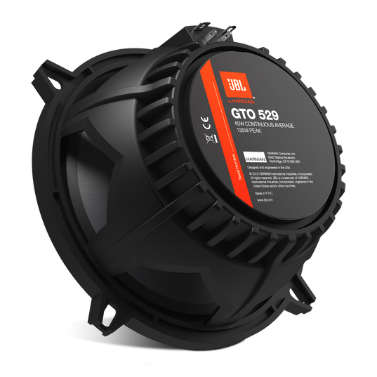 """GTO529 - Black - 180-Watt, Two-Way 6-1/2"""" Speaker System - Back"""