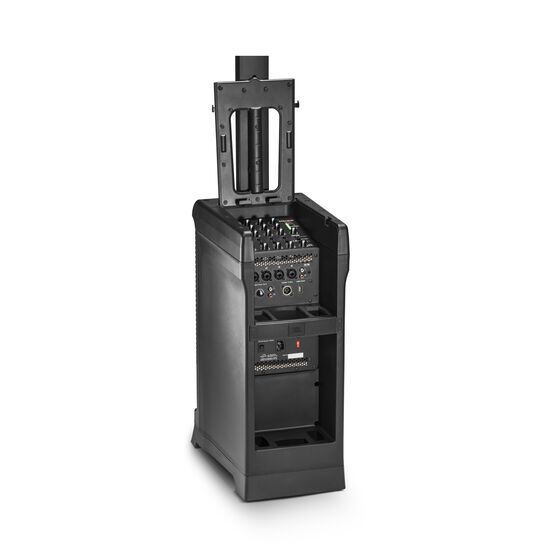 JBL EON ONE PRO - Black - All-in-One, Rechargeable, 7 Channel Linear-Array PA System - Detailshot 1