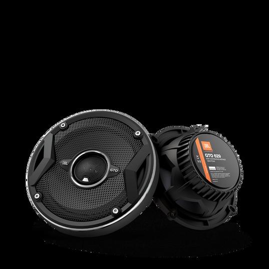"GTO629 - Black - 180-Watt, Two-Way 5"" x 7"" Speaker System - Hero"