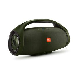 JBL Boombox - forest green - Portable Bluetooth Speaker - Hero