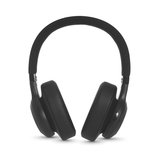 JBL E55BT - Black - Wireless over-ear headphones - Detailshot 4