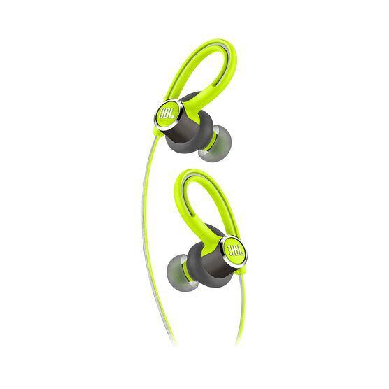 JBL Reflect Contour 2 - Green - Secure fit Wireless Sport Headphones - Detailshot 1