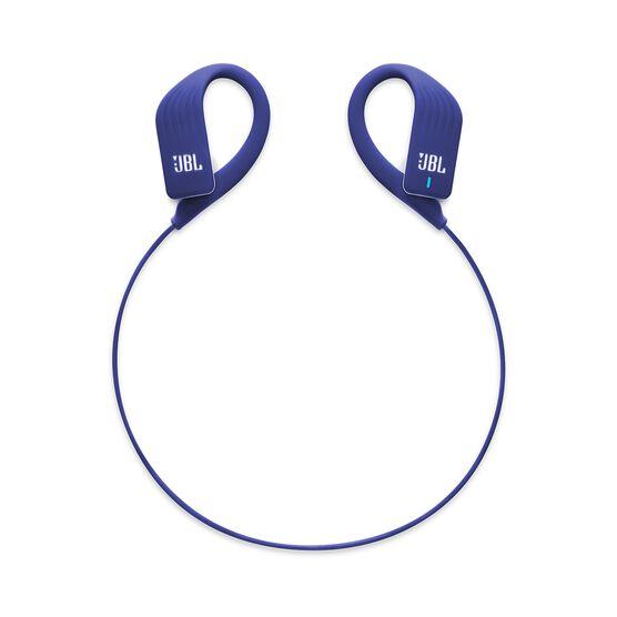 JBL Endurance SPRINT - Blue - Waterproof Wireless In-Ear Sport Headphones - Detailshot 2