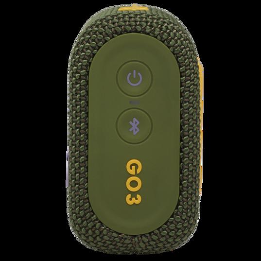 JBL Go 3 - Green - Portable Waterproof Speaker - Right