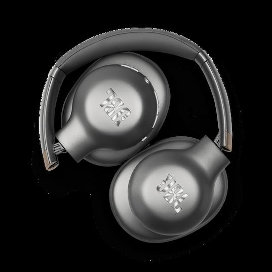JBL EVEREST™ 710 - Gun Metal - Wireless Over-ear headphones - Detailshot 1