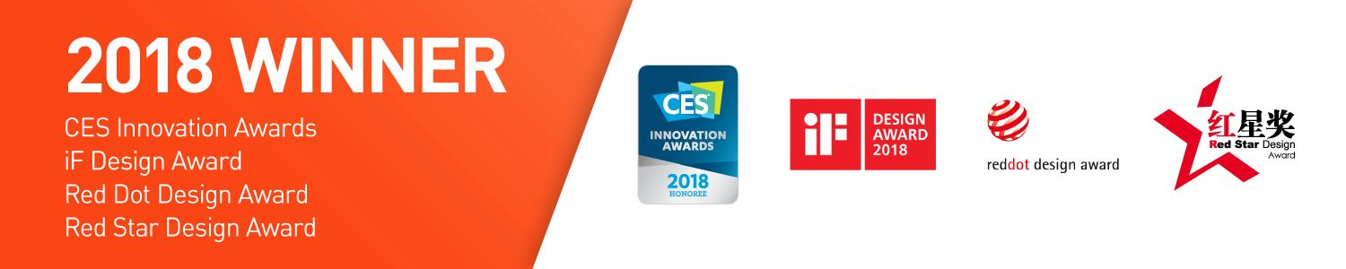 CES, iF, redstar, reddot Awards