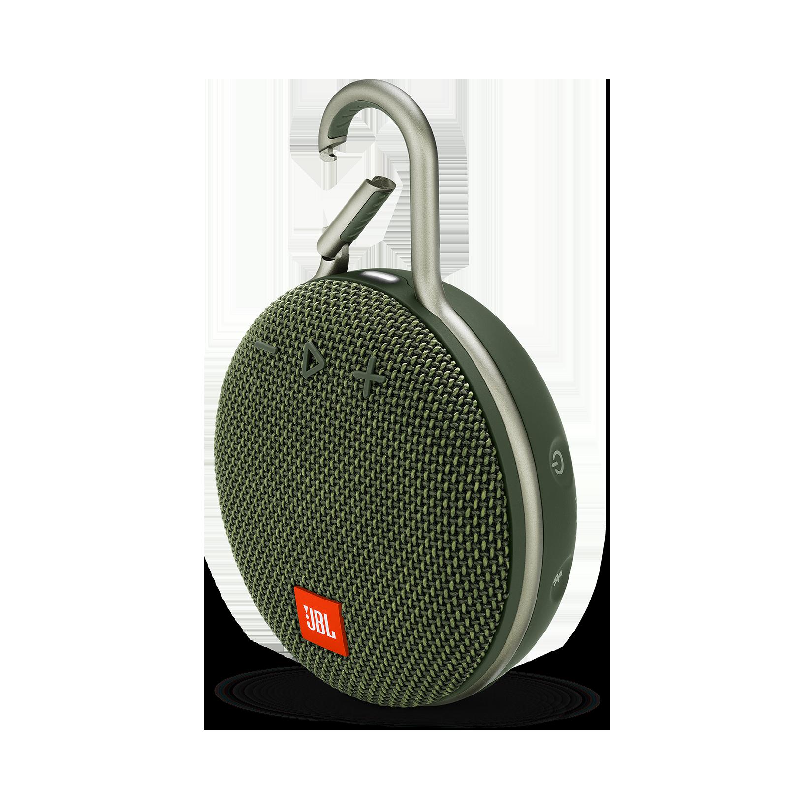 JBL CLIP 3 - Forest Green - Portable Bluetooth® speaker - Hero